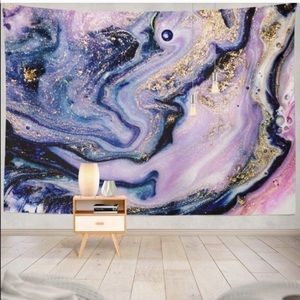 Colorful Marble Wall Hanging Tapestry